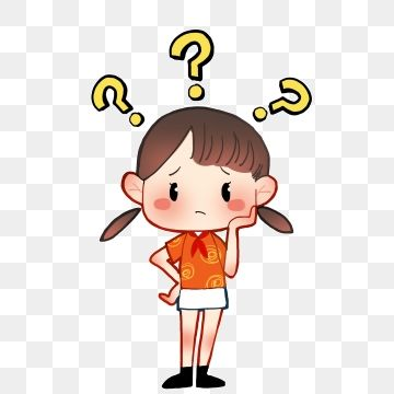 Cute Cartoon Child Question Mark Png Picture Material Cute Cartoon Character Cute Girl Png Transparent Clipart Image And Psd File For Free Download Cartoon Question Mark Cartoon Clip Art Cute Cartoon