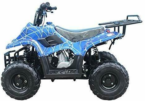 Kids Ride On Quad Atv 4 Wheeler Car 24v Battery 110cc Gas