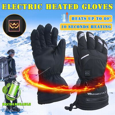 Details About 2x Safety Waterproof Touchscreen Winter Hand Warmmer Warm Heated Gloves Heating In 2020 Heated Gloves Warm Gloves Gloves
