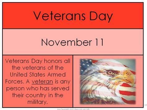 Veterans Day Freebie