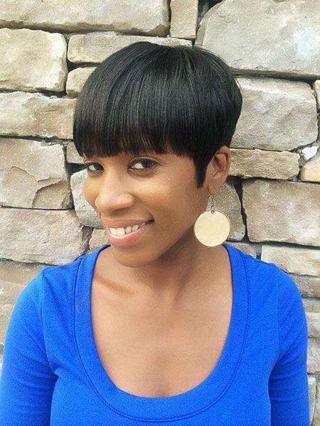 Mushroom Haircut Girl : mushroom, haircut, Short, Haircuts, Black, Women, Styles,, Mushroom, Haircut,
