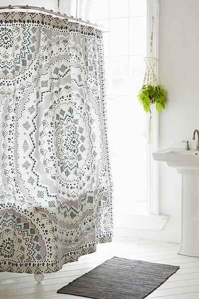 your shower rail rod curtain ideas bathroom double cool of how curtains permalink to curved installation make beautiful install design