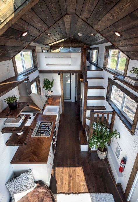 Tiny Home (Napa Model) - Tiny House for Rent in Delta, British Columbia - T. Tiny Home (Napa Model) - Tiny House for Rent in Delta, British Columbia - Tiny House Listings Tiny Houses For Rent, Tiny House Loft, Best Tiny House, Modern Tiny House, Tiny House Listings, Small House Design, Tiny House Plans, Tiny House On Wheels, Tiny House Bedroom