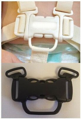 Baby Harness Chest Buckle Replacement For Fisher Price Spacesaver