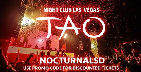 party Tao Night Club Ticket Discount...