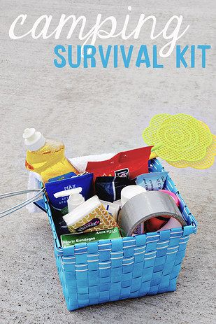 This camping kit that will calm down even the least outdoorsy people on the trip.