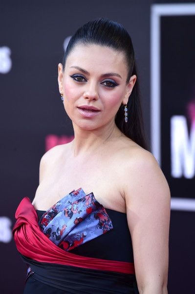 Mila Kunis attends the premiere of STX Entertainment's 'Bad Moms'.