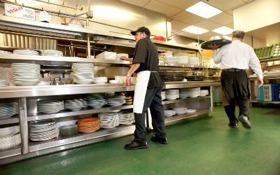 Give A New Life To Your Kitchen With Epoxy Flooring Kitchen Flooring Commercial Kitchen Kitchen