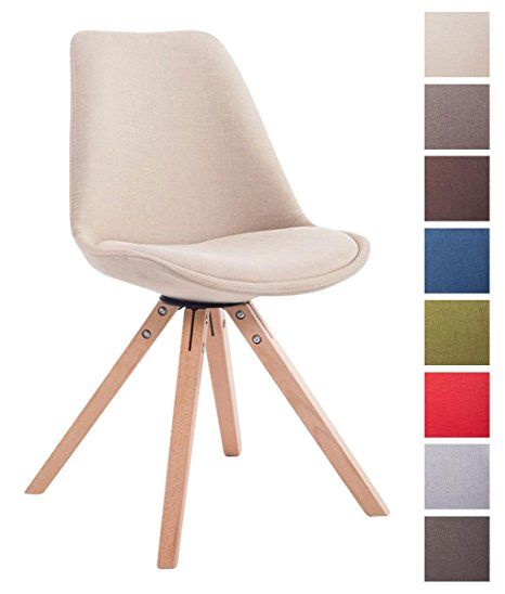 Clp Design Retro Stuhl Toulouse 54 90 Euro Holzgestell Natura Square Stoffbezug Gepolstert Creme Amazon De Stuhle Polsterstuhl Stuhl Polstern