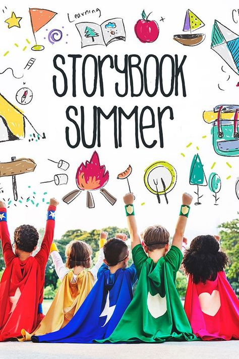 Storybook Summer For You And The Kids Summer Camp Themes Summer Camp Activities Summer Camps For Kids