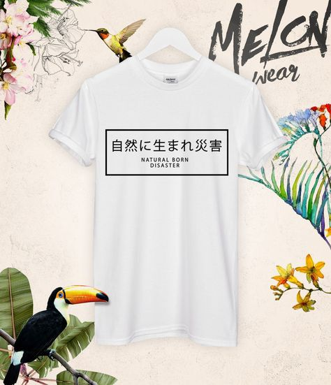 Natural born disaster t shirt top tee dark blvck dope concert band yung lean  new 9e5e9eb0eb4d