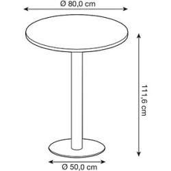 Runde Tische Rustikale Schlafzimmerdekorationen Esstisch Rund