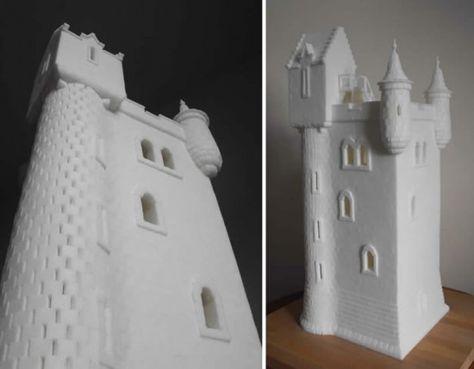 Sugar cube igloo / castle