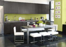 El Color Para Pintar Las Paredes De Tu Casa Decoracion De Cocina Moderna Pintura Verde Para Cocina Decoracion De Cocina