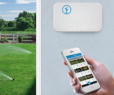 Rachio Smart Sprinkler Controller - Take control of your watering.  - CoolShitiBuy.com #Lawns, #Patio, #Smart, #Sprinkler