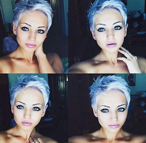 Blau weiblich blond Kostenlose foto