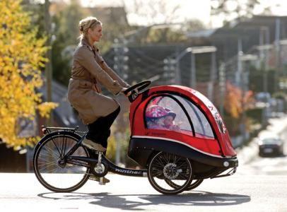 Kangaroo Luxe Front Trailer Bike Brilliant Kids Get The Best