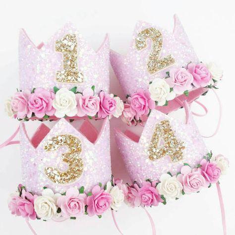 Readystock 1st Birthday Hat 2nd Birthdaybirthday Hatbirthday Party HatSixers HatParty 3rd HatPhoto Prop Princess Outfit