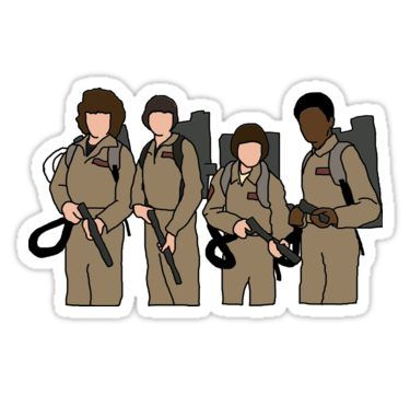 Stranger Things Ghostbusters Sticker Products In 2019