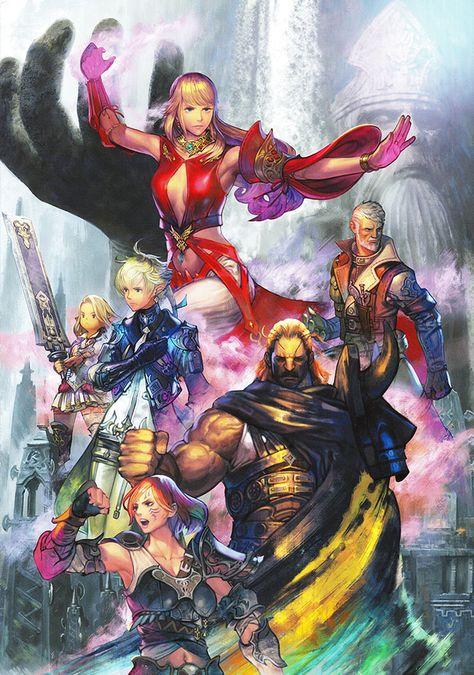 Promotional Poster Art - Final Fantasy XIV: Stormblood Art Gallery