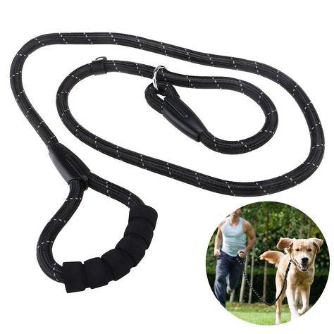 Ismarten Reflective Durable Dog Slip Rope Leash Heavy Duty