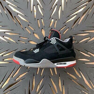 Air Jordan Retro 4 Bred 2012 308497-089