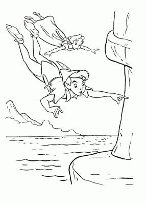 Desenhos Para Pintar Peter Pan 24 Paginas Para Colorir