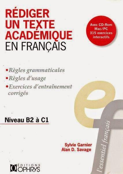 Telecharger Gratuitement Rediger Un Texte Academique En Francais Pdf Teaching French Learn French French Classroom