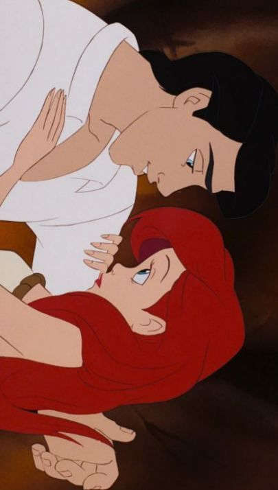15 Ideas wall paper disney princess ariel prince eric