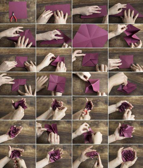 Et un petit DIY fleurs en papier | Make my lemonade - +++ pour offrir à Noel!
