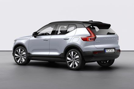 Volvo Xc40 Recharge P8 Awd In Glacier Silver In 2020 Volvo Concept Cars Vintage Volvo Cars