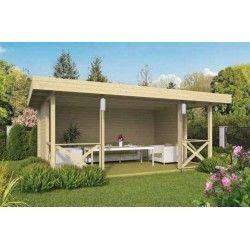 Kiosque De Jardin 17m2 350x500cm Konstantin Tuindeco Kiosque Jardin Pavillon De Jardin Chalet