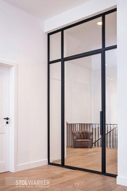 Steel Glass Doors Steel Loft Doors In 2020 Loft Door