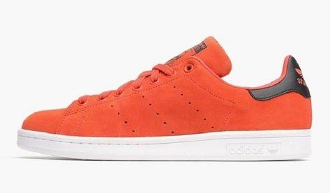 adidas stan smith orange blanc homme