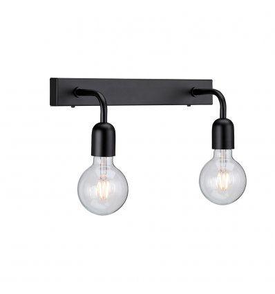 Regal 2L Vägglampa Badrum IP21 Mattsvart | Badrumslampa