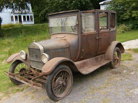 1926 ford model t fordor sedan