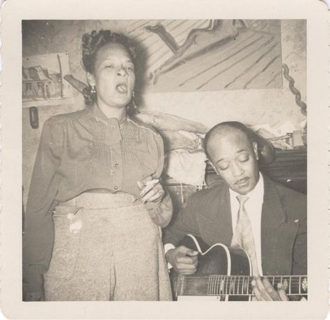 Danny Barker performs with his...