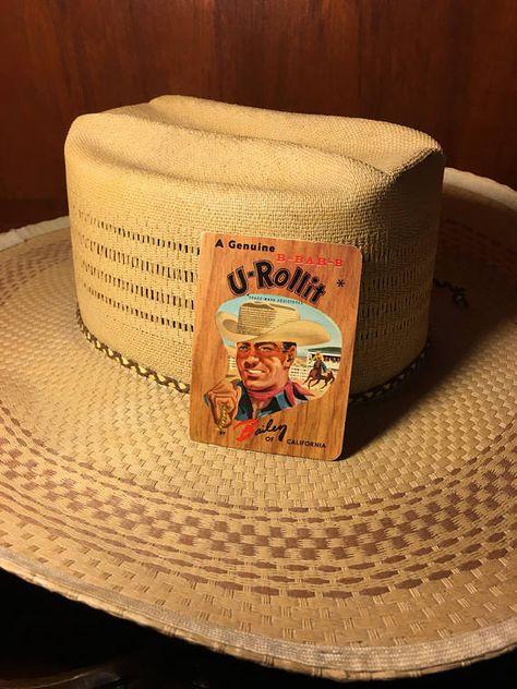 Bailey U-ROLLIT Straw Cowboy Hat from BAR-B-Q Ranch Post  0b49fc56289