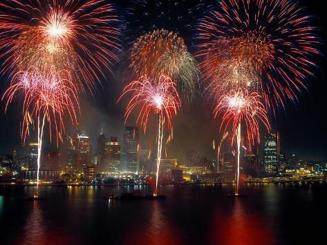 Photographic Print Fireworks Display At Night On Freedom Festival At Detroit In Michigan 24x In 2021 Canada Day Fireworks Fireworks Images New Year S Eve Wallpaper
