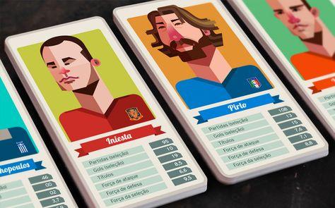 Designers brasileiros fazem goleada na Copa do Mundo 2014 - Shutterstock Blog Português