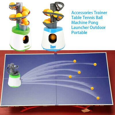 Advertisement Ebay Pong Table Tennis Automatic Ball Machine Launcher For Training Exercise Table Tennis Fun Sports Indoor Games