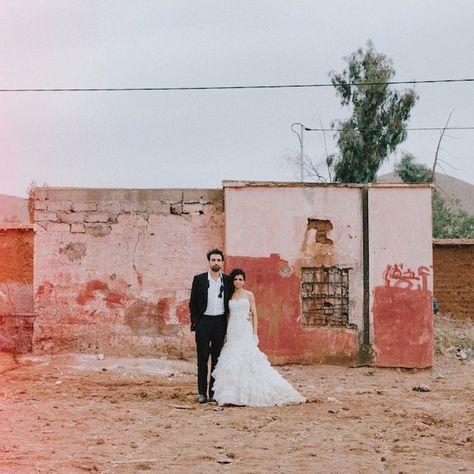 ece982fe1d57 Beautiful Night Time Wedding in Morocco