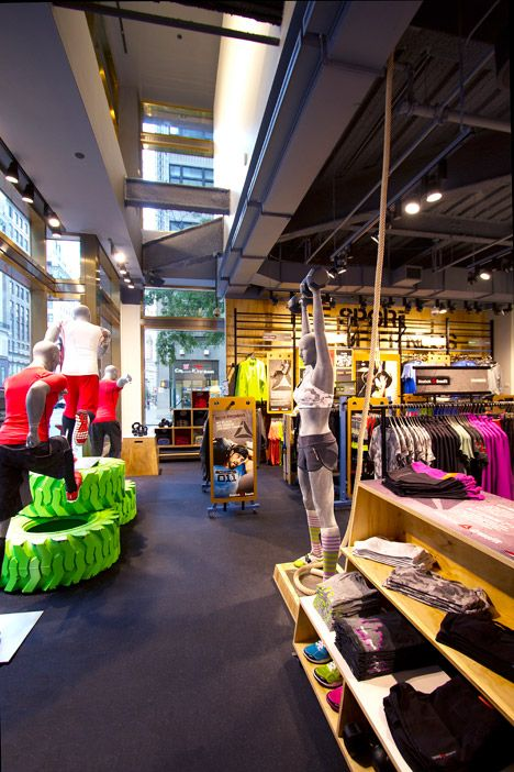 Fit Hub- if in NYC get here and #getafterit | Fitness products I'm into  #fitgear | Pinterest | Window displays, Display and Window