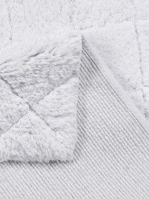 Badezimmer Teppich Cotton Pattern Diamond Weiss Von Tom Tailor Badezimmerteppich Weisser Teppich Teppich