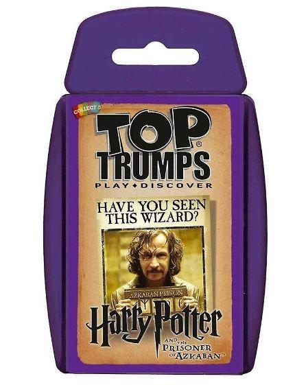 Harry Potter Top Trumps Kartenspiel Der Gefangene Von Askaban Karte Spiel
