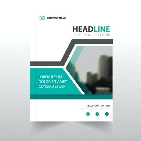 Company Profile Cover Page Template Free Construction Design Blue