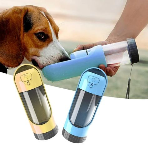 Item Type: Water BottlesVolume: 250mlApplicable Dog Breed: UniversalType: DogsMaterial: OtherColor: Green,Blue,Yellow,PinkPet Dog Water Bowl: Travel water bottle for big dogsPuppy Drinking Bowl: Dog feeder for small dogportable pet product: Universal dog drinking bowl