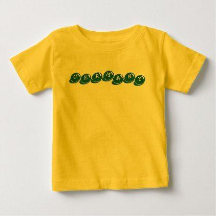 Germany Deutschland Kids Kinder Baby T Shirt Kids Kid Child Gift Idea Diy Personalize Design Top Baby Products Baby Tshirts T Shirt