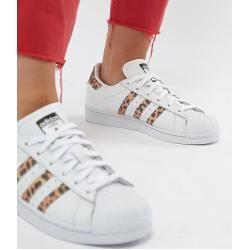 adidas Originals – Superstar – Sneaker mit Leopardenmuster