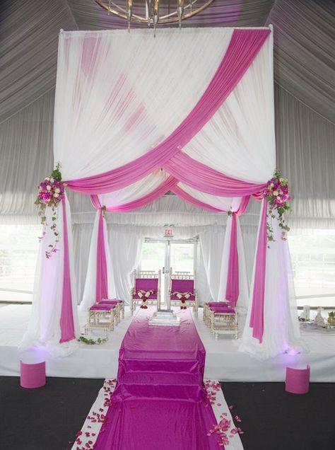 400 Fuschia Wedding Ideas Fuschia Wedding Wedding Wedding Decorations